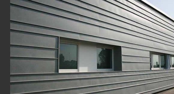 bardage zinc horizontal interior design ideas. Black Bedroom Furniture Sets. Home Design Ideas