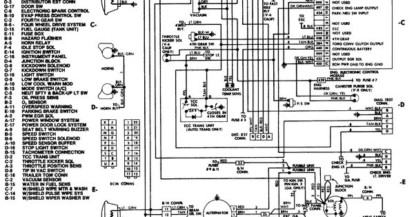 alternator wiring diagram for 1990 chevy truck wiring diagram for 85 chevy truck 85 chevy truck wiring diagram | chevrolet c20 4x2 had ... #10