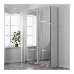 Pax Wardrobe 150x44x201 Cm Soft Closing Damper Ikea Ikea