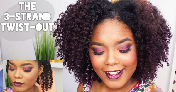The 3 Strand Twist-Out