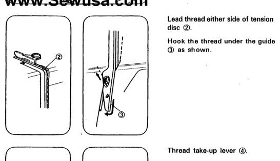 white sew sewing machine manual