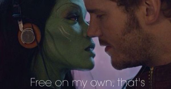 starlord and gamora relationship problems