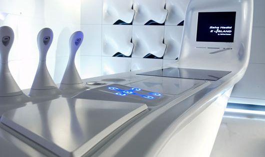 interior design hi tech kitchen hi tech style. Black Bedroom Furniture Sets. Home Design Ideas