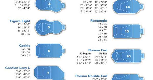Vinyl Pool Liner Shapes Inground Vinyl Liner Inground Swimming Pool Shapes Sizes Pool