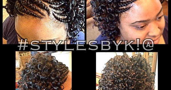 Crochet Hair Montreal : Tresses collEes, Tresses au crochet and Ghana on Pinterest