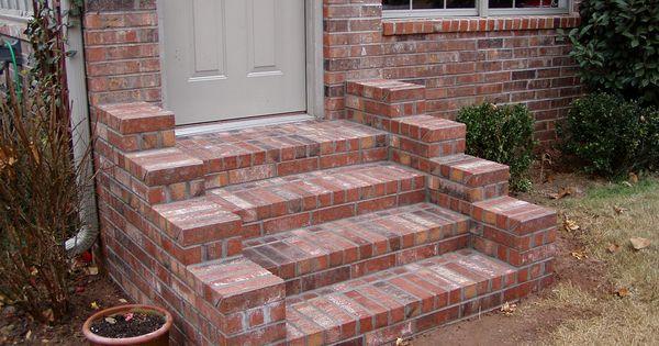 Brick Steps Hardscapes Pinterest Brick Steps Bricks