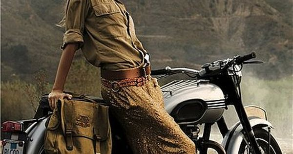 I love everything in/about this picture* Indiana Jones meets Ralph Lauren chic