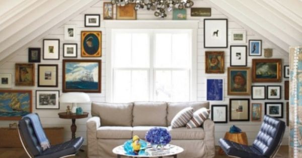 Eclectic Gallery Wall Decorating Pinterest Wall And Walls