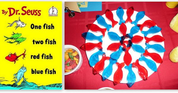 One fish two fish treats fun to read the book and then for One fish two fish read aloud