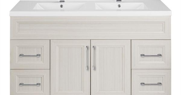 Cutler Kitchen Bath Cot Cottage 48 In Bevel Shaker Double Vanity W Top Vanity Double Vanity Bathroom Vanity