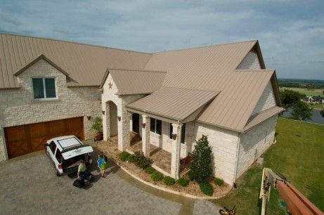 Metal Roofing Gallery Mueller Inc Metal Roof House Roof Roof Architecture
