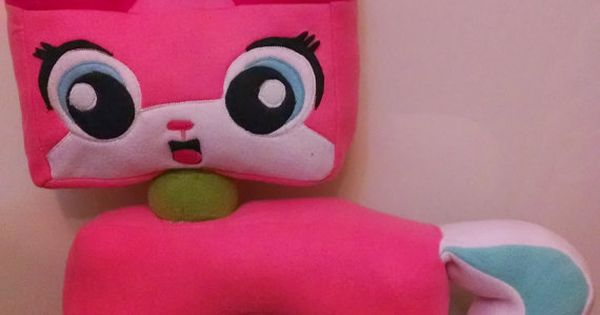 Unikitty Plush From The Lego Movie Very Large By
