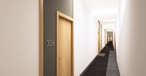 Crave ID. Queens Dock. Apartment corridor | Crave ID ...