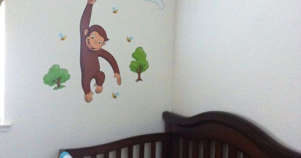 Curious george baby room baby beginnings pinterest for Curious george bedroom ideas