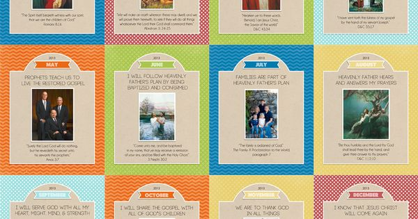 2013 LDS Primary Posters {free printables   Crafting, Free printables ...