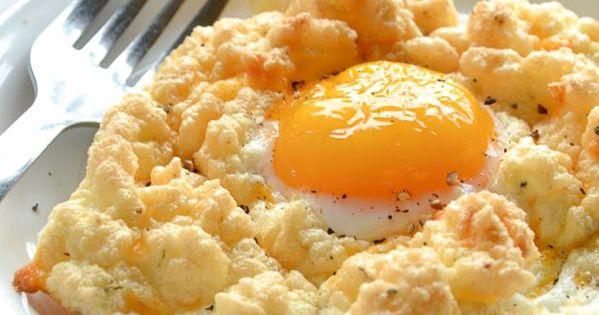 Cheddar Bay Egg Nests | Recipe | Fluffy Eggs, Nests and Cheddar
