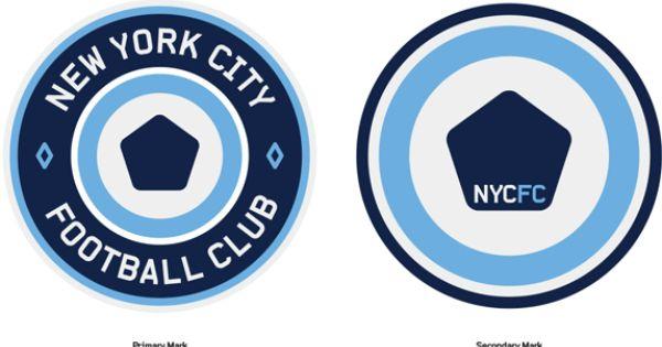 In Brief Nyc Football Club Sparks Imagination Football Logo Design Logo Inspiration Branding Logo Design
