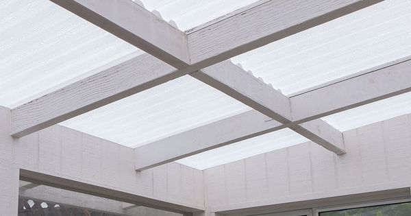 Tuftex Polycarb Translucent White Roof In 2020 Corrugated Roofing Fibreglass Roof Polycarbonate Roof Panels