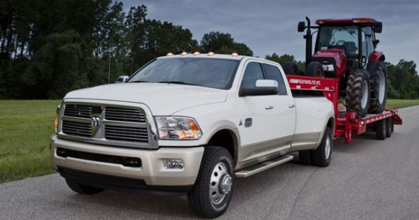 The Backbone Of The 2012 Ram 3500 Hd Pickup Truck Is A Hydro Formed Fully Boxed Front Frame Structure With Advanced Torsi Dodge Trucks Ram Ram 3500 New Trucks