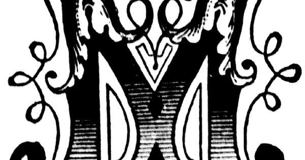 initial  u0026quot m u0026quot   ornamental letter