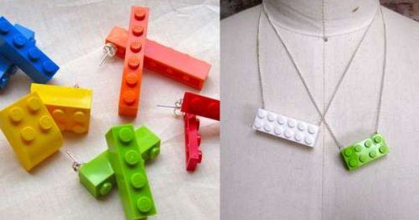 Lego accessories. I made a lego necklace years ago, it's nice to
