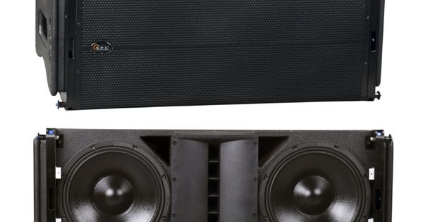 La 6ad Spe Dual 15 Inch Two Way Active Powered Speaker Line Array Diseno De Altavoces Sistema De Audio Altavoces