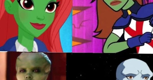 I M Bored So Here S Some Stills From The Justice League Vs The Fatal Five Sneak Peek Btw This Is Already My Favorite Miss Martian The Martian Favorite Movies
