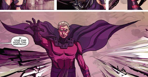 Magneto vs Psylocke | Apocalypse the villain to bring end