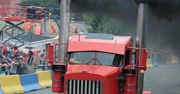 Kenworth custom W900L Rollin coal  Diesel performance race