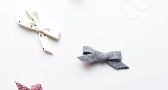 how to make bias tape bows