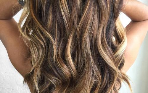 60 Looks with Caramel Highlights on Brown and Dark Brown ... - photo #14