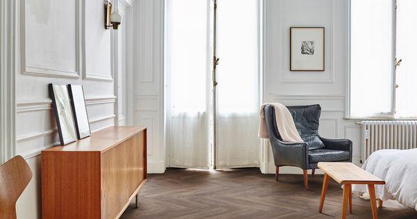 Moduleo moods visgraat vloer in de slaapkamer interieur for Interieur vloeren