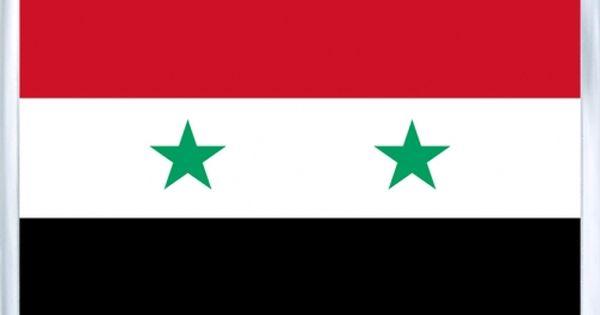 Acrylic Fridge Magnet Syria Flag Of Syria In 2020 Syria Flag Syrian Flag Flags Of The World