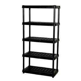 Project Level 4 I Would Love To Have Three Of These Lining Our Utility Room For Food Storage Cl Plastic Shelving Units Plastic Shelves Plastic Garage Shelving