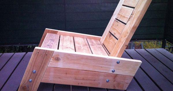 Wood Decks Deck Chairs And Decks On Pinterest