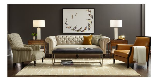 CHESTER COLLECTION - tufted sofa    Mitchell Gold + Bob ...
