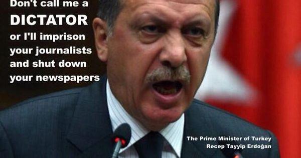 Image result for President Recep Tayyip Erdogan dictator
