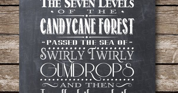 Seven Levels of the Candy Cane Forest - Swirly Twirly ...