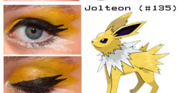 Pokemon eyeshadow!