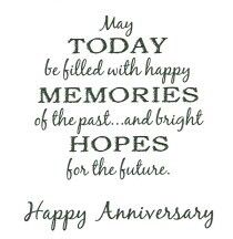 Today Be Filled With Memories With Images Anniversary Card