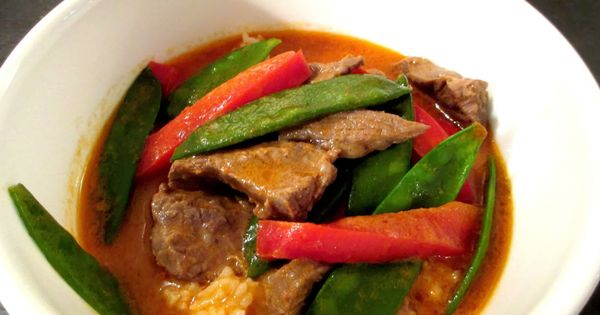 Homemade Thai Red Curry - Absolutely amazing and super quick! | From ...