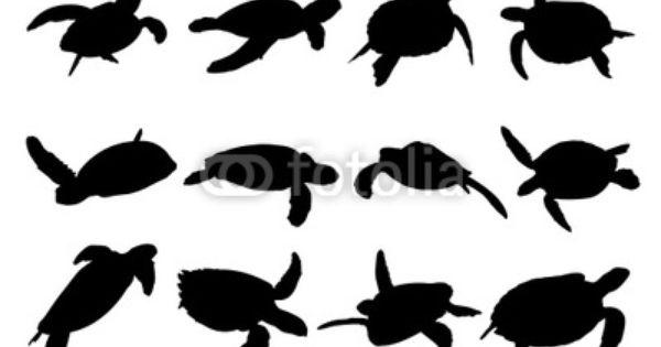 Pin By Dawn Darr On Sea Turtle Turtle Silhouette Turtle Art Sea Turtle Tattoo