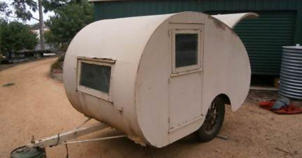 Aussie Teardrop Camper Circa 1940 Caravans Gumtree Australia Bendigo City North Bendigo 1107648758 Teardrop Camper Caravans City North
