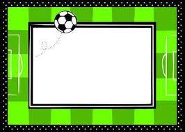 Resultado De Imagen Para Tarjeta Cumpleaños Futbol Para