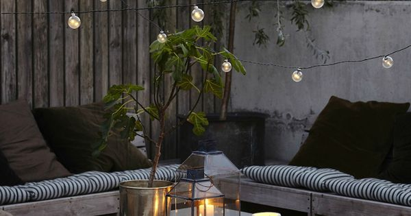 Id es d co am nager une terrasse originale invitant la d tente backyard patios and outdoor - Outdoor amenager ...