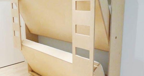 Mooi Slaapkamer Idees : Murphy Bunk Bed Plans