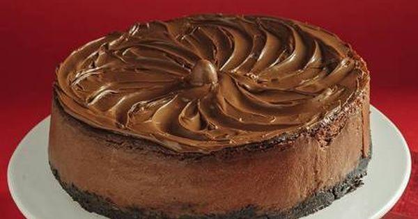 تشيز كيك بشوكولاتة نوتيلا من الشيف فتافيت Recipe Fatafeat Desserts Food