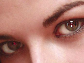 Fix red eye in lightroom