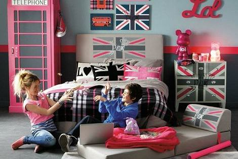 d coration chambre enfant catalogue maisons du monde ado fille maison du monde et british. Black Bedroom Furniture Sets. Home Design Ideas