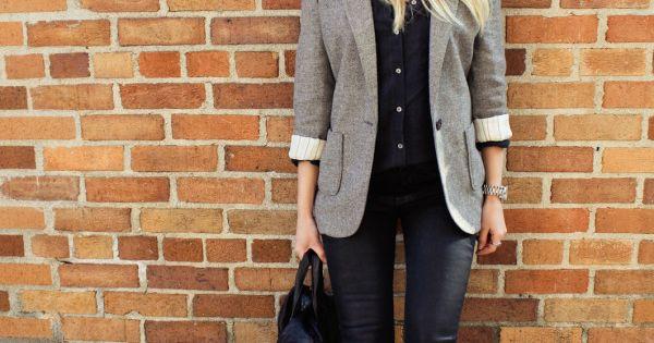 Hat + Leather Pants.